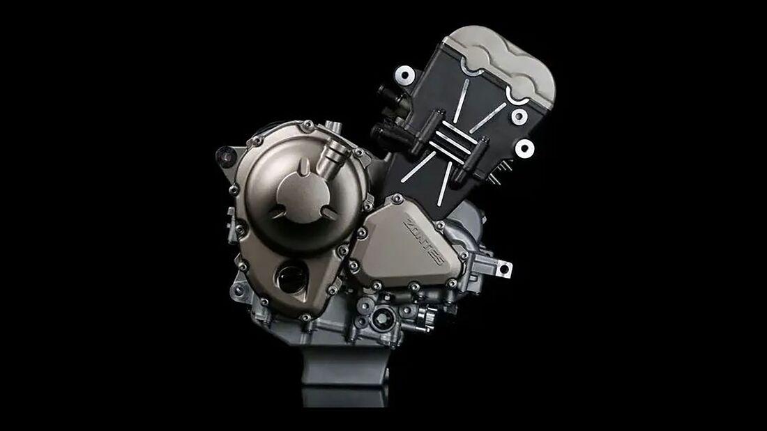 Zontes Dreizylindermotor