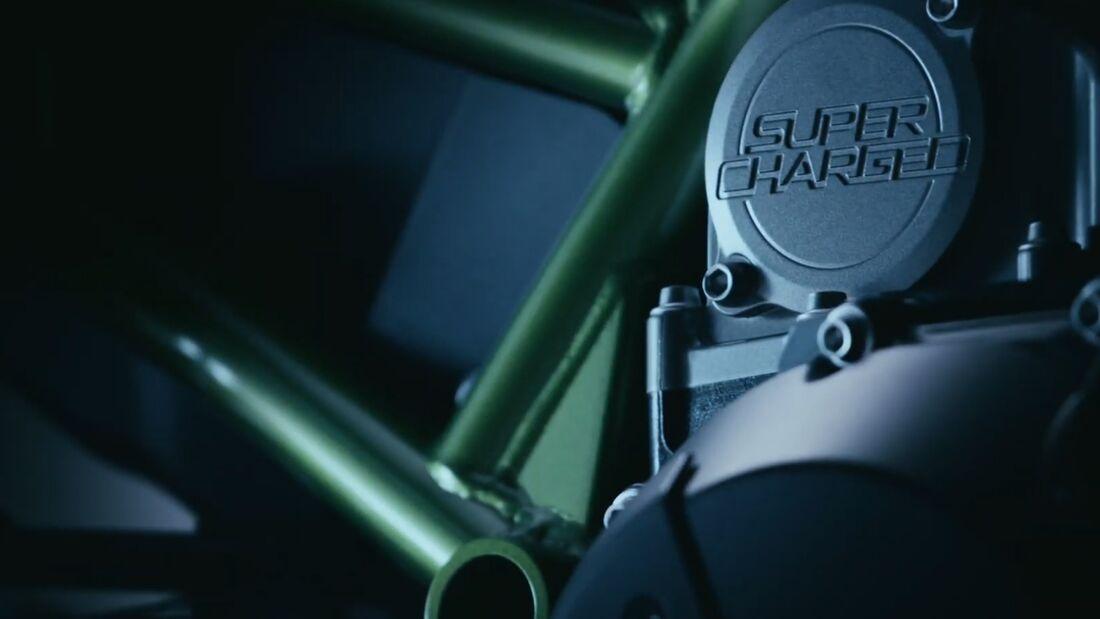 Zweites Teaser-Video zur Kawasaki Z-Supercharge.