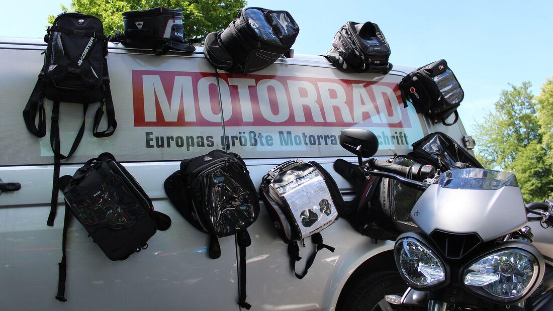 Held Tankrucksack Campo curved small Magnet Waterproof Motorrad 15 L NEU