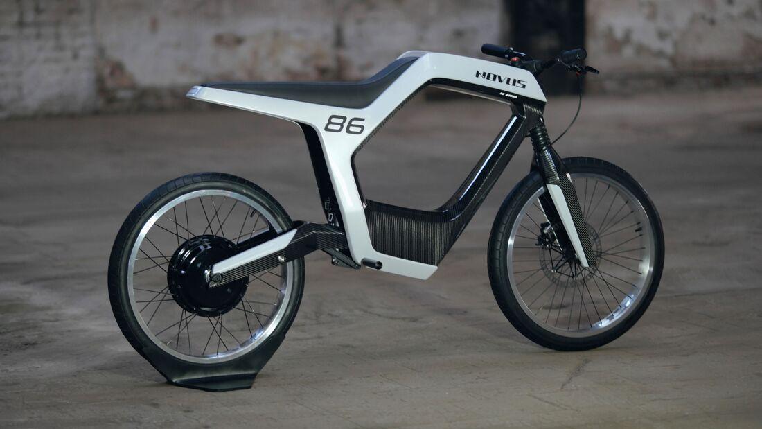 Novusbike Elektromotorrad mit 14 kW - MOTORRADonline.de