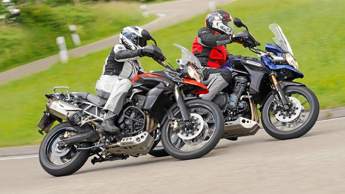Triumph Tiger 800 XC 2015 Motorrad Fotos & Motorrad Bilder