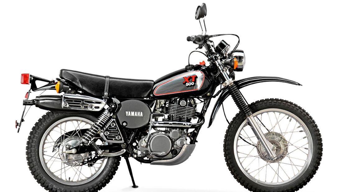 Platz 10: Yamaha XT 500 - MOTORRADonline.de