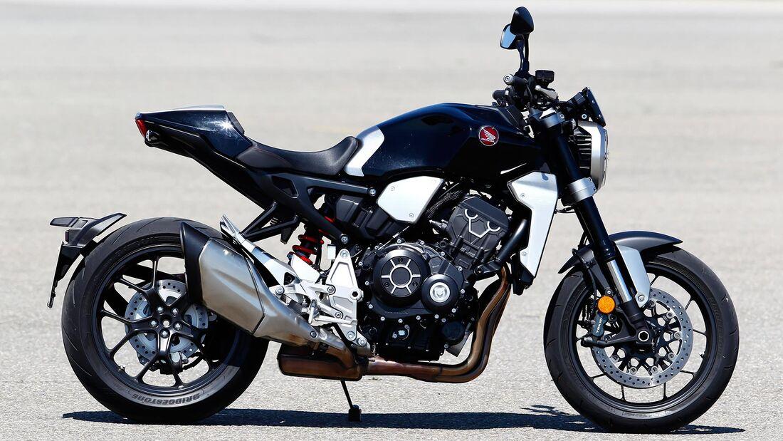 Honda CB 1100 RS, Kawasaki Z 900 RS und Yamaha XSR 900 im