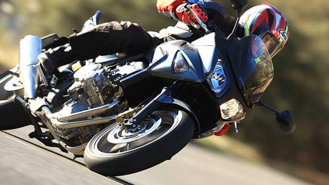 Honda CB 650 F im Top-Test - MOTORRADonline.de