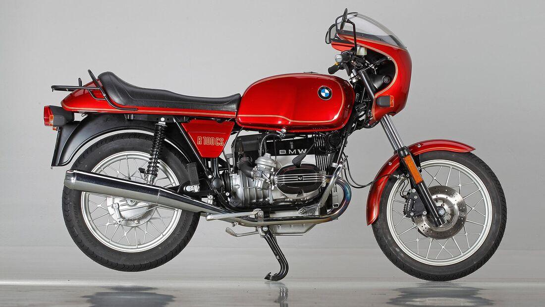 Bmw R 100 Cs 1983 Im Studio Motorradonline De