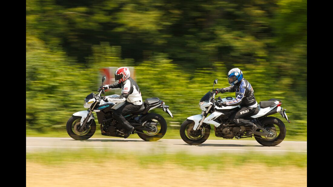 Benelli BN 600 R im Test - MOTORRADonline.de