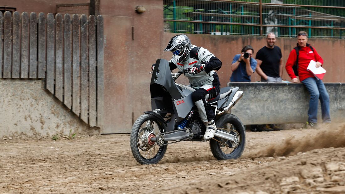 Allrad-Bike Projekt DT-A - MOTORRADonline.de