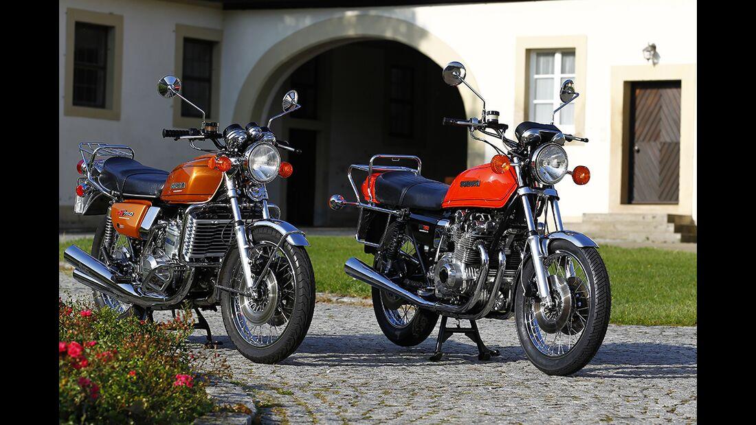 Auf Achse mit Suzuki GT 750 und Suzuki GS 750