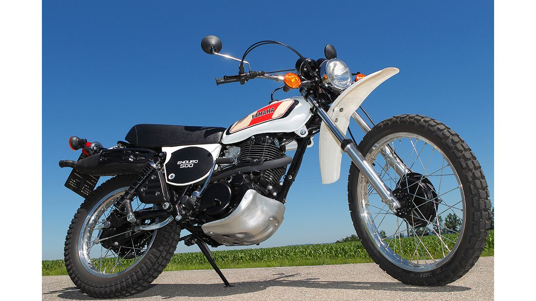 Yamaha XT 500: Une idée de lévasion - Moto-Station