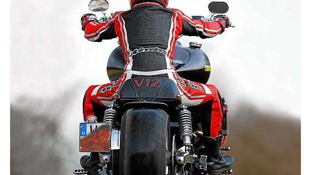 V12 Motorrad - Modellnews