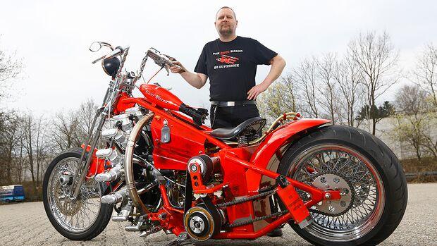 Le retour du Baron Rouge » AcidMoto.ch, le site suisse de
