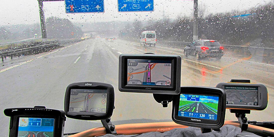 Tomtom Sd Karte Installieren.Motorrad Navis Und Apps Im Test Navigationsgeräte Für