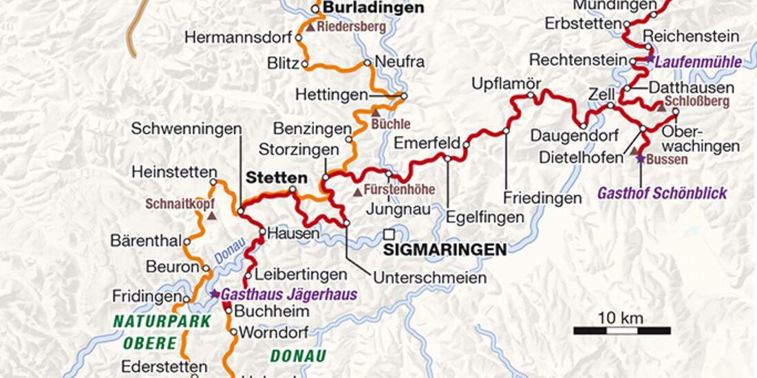 Schwäbische Alb Karte Städte.Endurotour Schwäbische Alb Motorradonline De