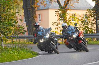 Bmw K 1600 Gt Sport Und Bmw R 1200 Rt Im Vergleichstest