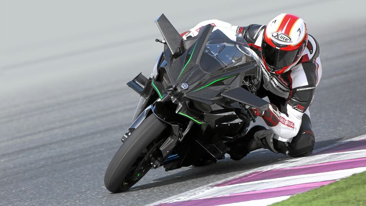 Kawasaki H2 Und Kawasaki H2r Im Fahrbericht Motorradonline De
