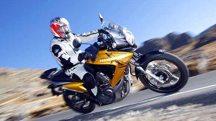 Top Test Honda Transalp Abs Motorradonlinede