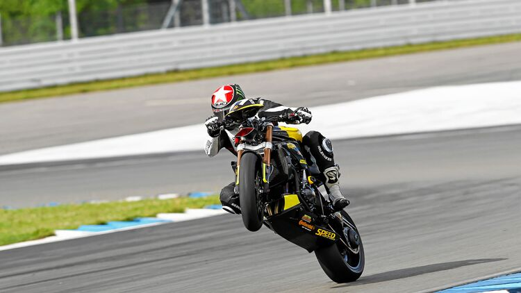Bretters-Triumph Speed Triple aus dem PS-Tuner-GP