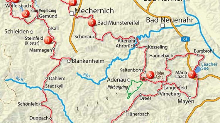 Eifel Karte Pdf.Tourentipp Eifel Motorradonline De