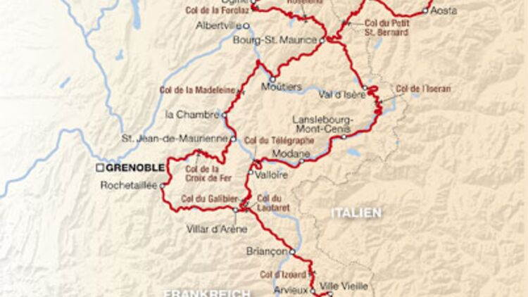 Nordfrankreich Karte.Unterwegs Die 10 Besten Alpenpässe Frankreichs Motorradonline De