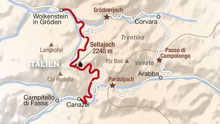 Alpenpässe Karte.Top 100 Die Wichtigsten Und Schönsten Alpenpässe Motorradonline De