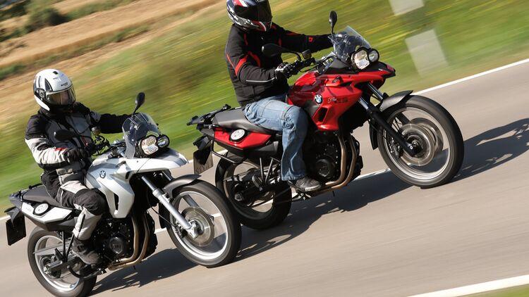 Test Bmw F 650 Gs Gegen F 700 Gs Motorradonline De