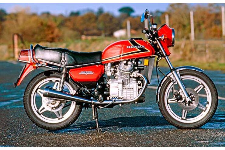 1978: Erster Test der Honda CX 500 - MOTORRADonline.de