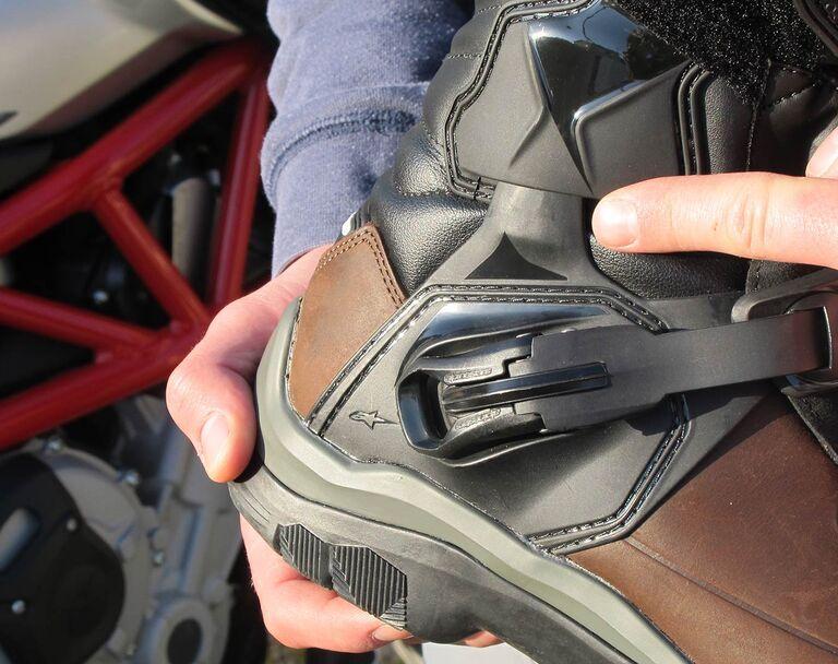 Für Motorradstiefel Schotter Im Robuste Asphalt Und Test 11 0N8nwm