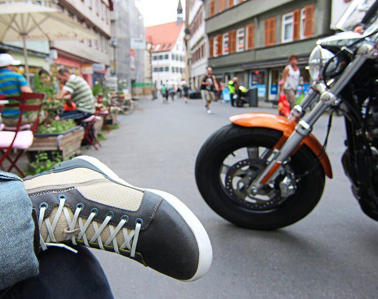 TOP Vanucci Damen Motorrad Stiefel, wie neu!!! Test sehr gut! 37
