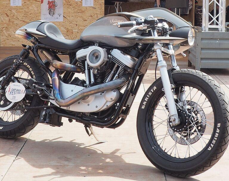 Mainhatten Choppers Harley Davidson XL 1200 Barista