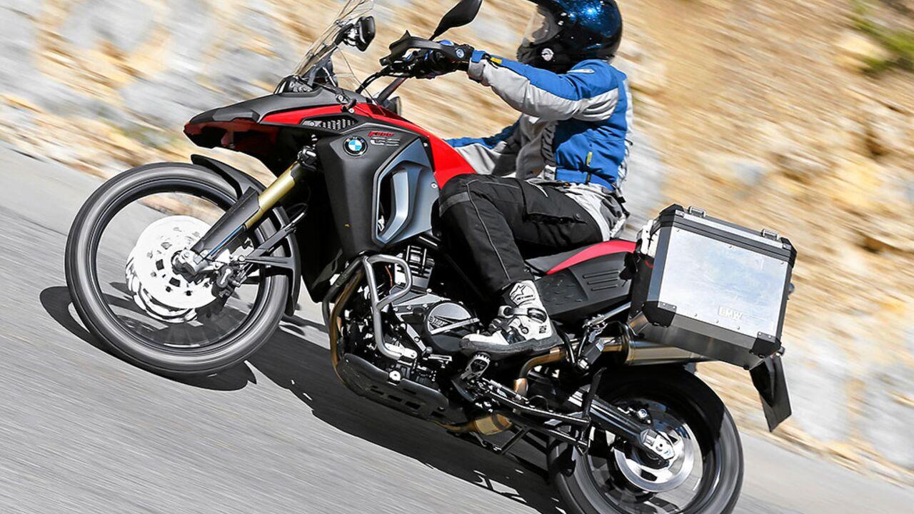 Test Bmw F 800 Gs Adventure Motorradonline De