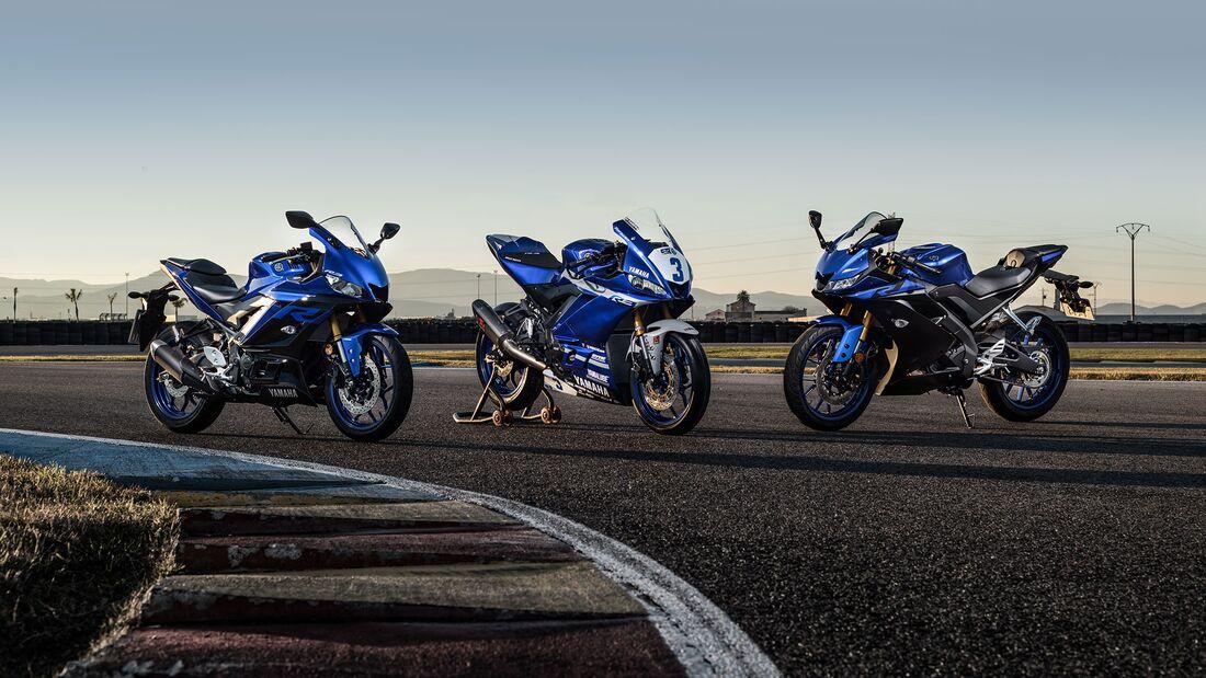 neue Yamaha R-Modelle